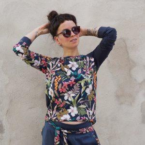 Bluza damska - Kwiatowa
